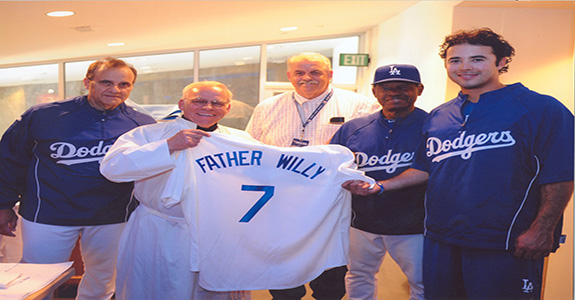 Fr. Willy Raymond Chaplain Los Angeles Dodgers
