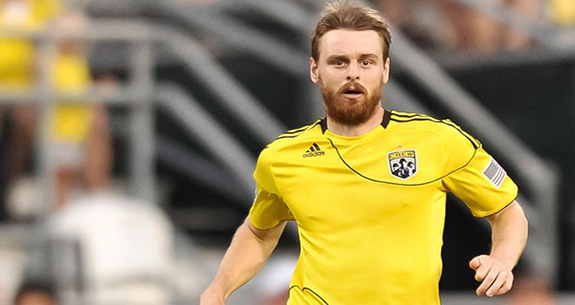 Eddie Gaven Midfielder For Major League Soccer's Columbus Crew