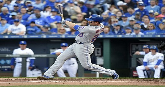 Neil Walker Second Baseman MLB's New York Mets